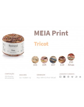 MEIA PRINT 50G 70817