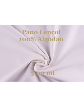 PANO LENÇOL 100% ALG.3.00